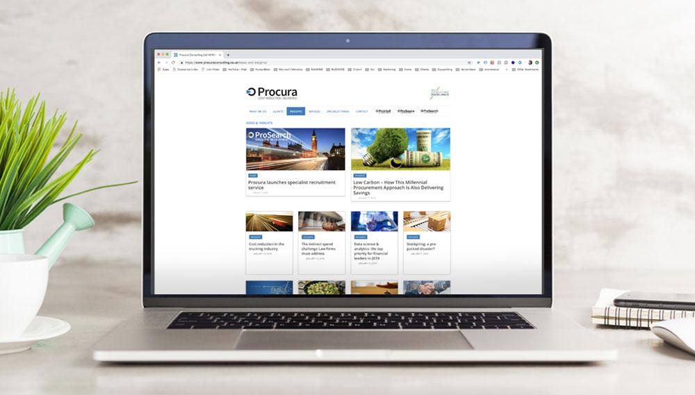 Procura Corporate site